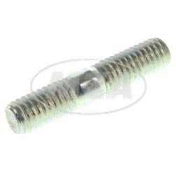 Stehbolzen M6x18-A4K DIN 835 für Vergaserflansch Stiftschraube M6 x 30mm